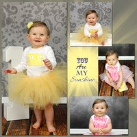 {You are My Sunshine, Bailey} 1st Bday